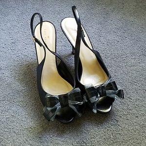 Kate spade peep toe heels